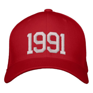 Casquette Brodée 1991 ans