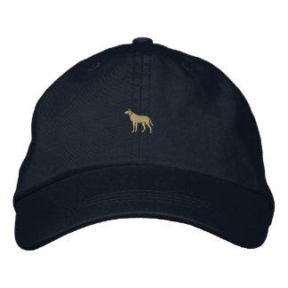 """Casquette Brodée 1"""" chien"""