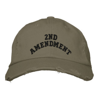Casquette Brodée 2ème Amendement