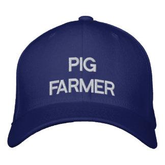 Casquette Brodée Agriculteur de porc
