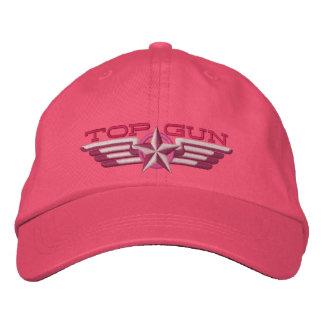 Casquette Brodée Ailes de pilote d'insigne d'étoile de Top Gun