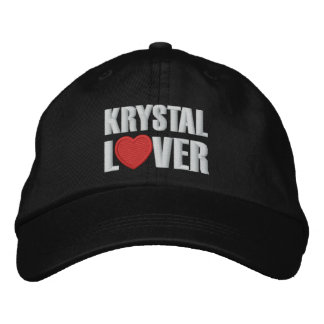 Casquette Brodée Amant de Krystal