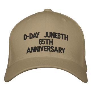 Casquette Brodée Anniversaire du le jour J June6th65th