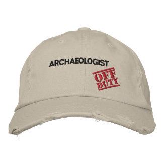 Casquette Brodée Archéologue qui n'est pas de service