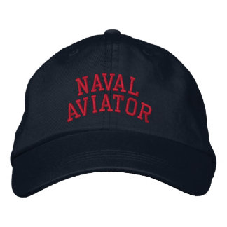 Casquette Brodée Aviateur naval