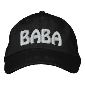 CASQUETTE BRODÉE BABA
