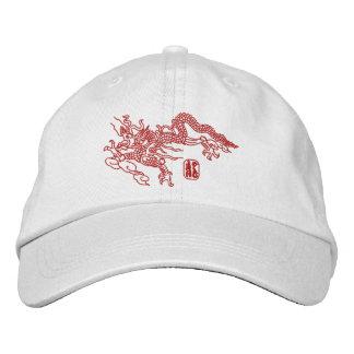 Casquette Brodée Broderie de dragon