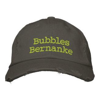 Casquette Brodée Bulles Bernanke