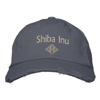 Casquette Brodée Cadeaux de papa de Shiba Inu