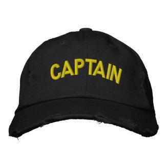 Casquette Brodée Capitaine d'un bateau ou d'une équipe sportive