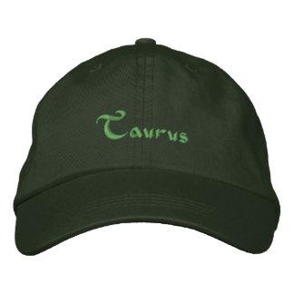Casquette Brodée Casquette/casquette brodés par zodiaque de Taureau