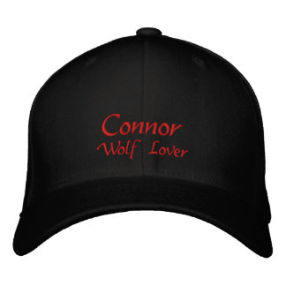 Casquette Brodée Casquette/casquette de nom de Connor