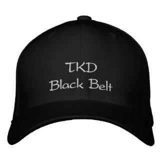 Casquette Brodée Ceinture noire de TKD