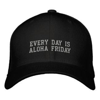 Casquette Brodée Chaque jour est Aloha vendredi