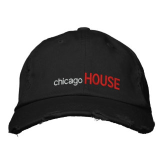 Casquette Brodée Chicago, MAISON