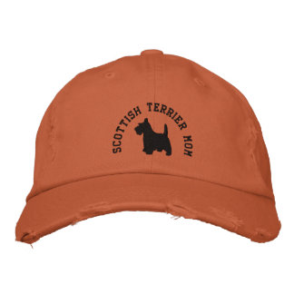 Casquette Brodée Chien de Scottie de maman de Terrier d'écossais