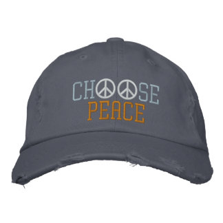 Casquette Brodée Choisissez la paix