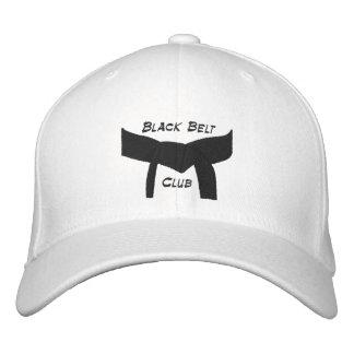 Casquette Brodée Club fait sur commande de ceinture noire d'arts