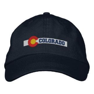 Casquette Brodée Conception de drapeau d'état du Colorado