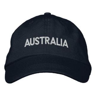 Casquette Brodée Conception patriotique de l'AUSTRALIE Downunder