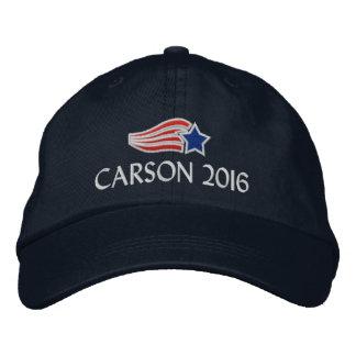 Casquette Brodée Conservateur politique de Ben Carson 2016
