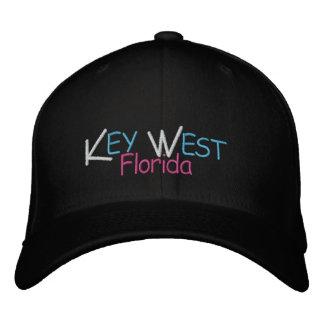 Casquette Brodée Couleurs de corail de Key West la Floride