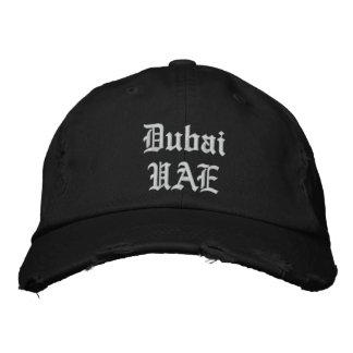 Casquette Brodée Coutume Dubaï de capot de représentant Ya