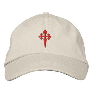 Casquette Brodée Croix de Santiago