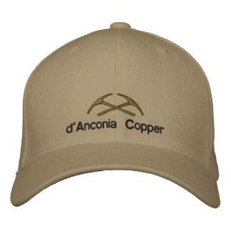Casquette Brodée cuivre de d'Anconia