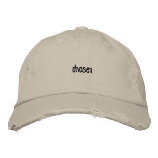 Casquette Brodée Distressed loyalement mobilisations Cap sable