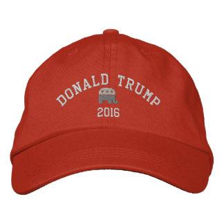 Casquette Brodée Donald Trump - éléphant 2016 du président GOP