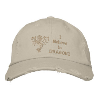 Casquette Brodée Dragon de guerrier