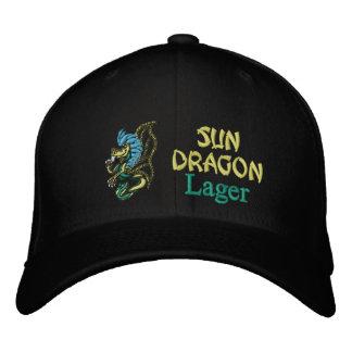 Casquette Brodée Dragon de Sun, bière blonde allemande