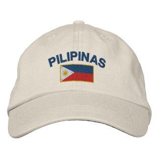 Casquette Brodée Drapeau de Philippines Pilipinas