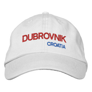 Casquette Brodée Dubrovnik, kappe de Dubrovnik   Hrvatska de