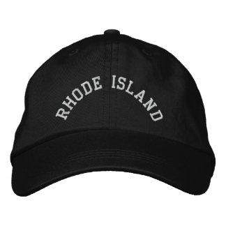 Casquette Brodée État d'Île de Rhode brodé