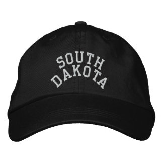 Casquette Brodée État du Dakota du Sud brodé