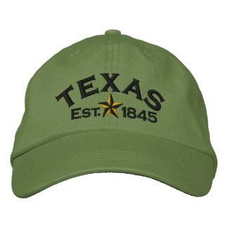 Casquette Brodée Étoile de Texas