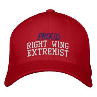 Casquette Brodée Extrémiste fier de droite