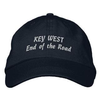 Casquette Brodée Extrémité de Key West de la sélection de route