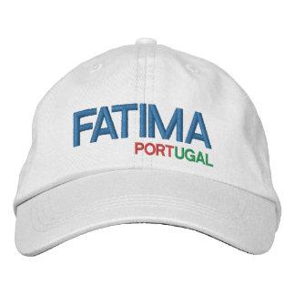 Casquette Brodée Fatima Portugal Baseball CAP