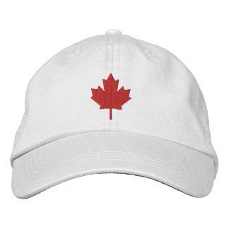 Casquette Brodée Feuille d'érable du Canada