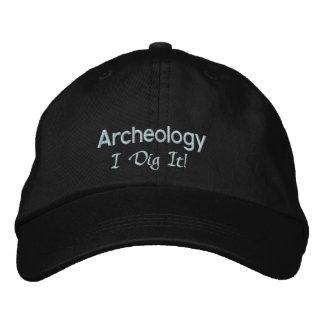Casquette Brodée Fouille de l'archéologie I il