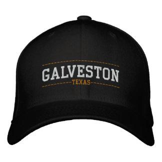 Casquette Brodée Galveston le Texas Etats-Unis a brodé des