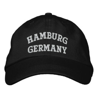 Casquette Brodée Hambourg, Allemagne