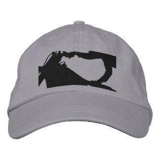 Casquette Brodée Haut vélo volant de saleté de cascade