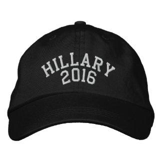 Casquette Brodée Hillary pour le président 2016