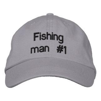 Casquette Brodée Homme #1 de pêche
