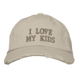 Casquette Brodée J'aime mes enfants