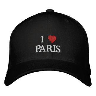 Casquette Brodée J'aime Paris